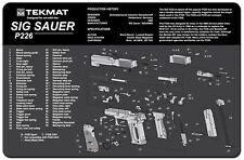 Sig Sauer P226 Gun Cleaning Mat by TEKMAT Pistol Rubber Neoprene