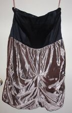 COOPER ST LADIES FORMAL DRESS~STRAPLESS~BLACK AND GOLD~SIZE 14~~STUNNING!!