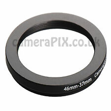 46mm to 37mm Male-Female Stepping Step Down Filter Ring Adapter 46-37 46mm-37mm