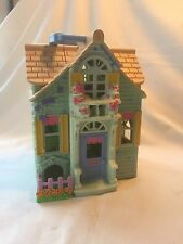 Mattel Fisher Price Sweet Streets Aqua Victorian Doll House Cottage