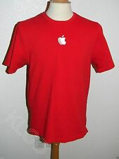 Apple Genius Bar Official Men's Red Uniform Work Shirt size L