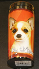 Chihuahua Tan Dog Stainless Steel Insulated Travel Tumbler Thermos