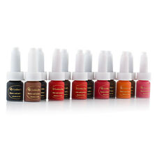 Golden Rose 6pcs/lot Permanent Makeup Tattoo Ink Kit 10ml/bottle Colors U-pick