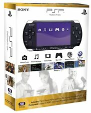 NEW Sony PSP 3000 Core Pack Black Handheld Console System  NIB