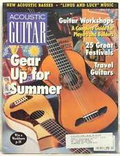 ACOUSTIC GUITAR MAGAZINE GEAR UP FOR SUMMER WORKSHOPS 25 GREAT FESTIVALS RA