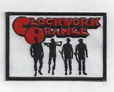 CLOCKWORK ORANGE  IRON PATCH BUY 2 GET 1 FREE = 3 OF THESE.