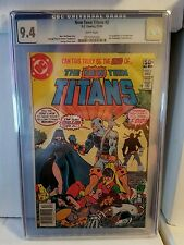 New Teen Titans #2 CGC 9.4 1st Appearance of Deathstroke the Terminator Slade
