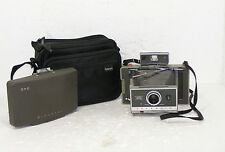 Vintage Polaroid Model 340 Land Instant Camera w/Timer, and  Case