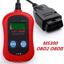 Car Diagnostic Scanner Tool MS300 CAN OBDII OBD2 Memo Engine Fault Code Reader