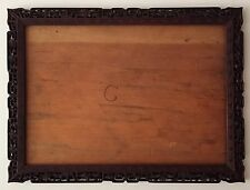 ANTIQUE CHINESE PIERCED AND HAND CARVED HARDWOOD FRAME, 19TH C.