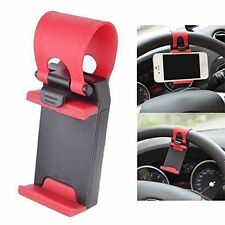 Universal Car Steering Wheel Mobile Phone Mount Socket Holder