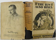 ERNEST HEMINGWAY The Sun Also Rises FIFTH PRINTING
