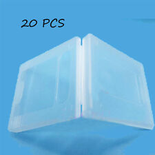 20x Clear White Nintendo Game Cartridge Case for Nintendo Game Boy Color GBC #0U