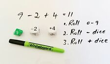 Education Stident White Board , Marker and Dice