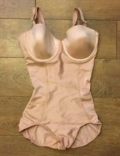 SPANX Boostie Yay Slimming Bodysuit Shaper rose gold sz S SMALL NWOT