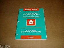 1995 Dodge Ram pickup truck 2500 3500 8.0 engine diagnostic shop service manual