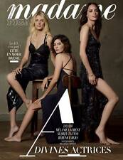 MELANIE LAURENT * AUDREY TAUTOU * BERENICE BEJO * 3 Sexy * Madame Figaro * 2016