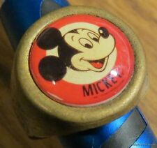 MICKEY MOUSE walt DISNEY GUMBALL MACHINE RING VINTAGE ears old brass 70s 60s