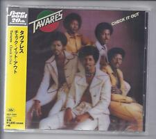 TAVARES Check It Out  / JAPAN cd jewelcase cd Free Soul Series UICY-15307 NEW