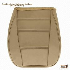 2000 2001 2002 Ford Mustang V6 Coupe Driver Side Bottom Leather Seat Cover Tan
