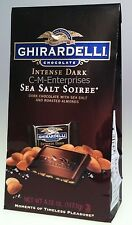 Ghirardelli Chocolate Squares Intense Dark Sea Salt Soiree 4.12 oz