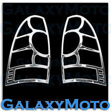 05-15 Toyota Tacoma Triple Chrome Plated Taillight Lamp Guard Trim Bezel Cover