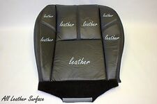 2007 to 2012 Chevy Tahoe Yukon Suburban  Driver Bottom Leather Seat Cover Black