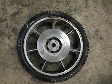 1977 77 KAWASAKI K2 650  BIKE MOTORCYCLE BODY TIRE WHEEL 3.50-19 FRONT SPOKES