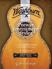 History of Washburn Guitar Pre-War Instruments Styles Guitars Mandolin 000001176