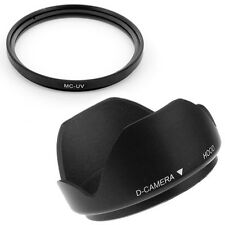 67mm Lens Hood,MCUV Filter for Canon EOS 7D 50D 60D 600D T3i 18-135mm SLR Camera