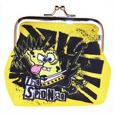New Genuine SpongeBob Squarepants 'So What Rocker' Coin Purse - Ideal Gift