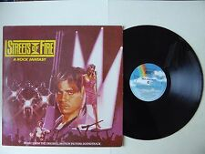 Streets of Fire A Rock Fantasy Music From The Motion Picture Soundtrack Vinyl LP