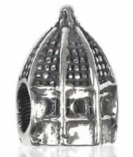TEDORA FIRENZE CATHEDRAL BEAD 925 SILVER BEADS FIT EUROPEAN BEADS S 069