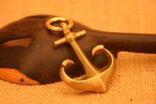 Solid Brass Nautical Anchor Necklace Pendant EDC keychain