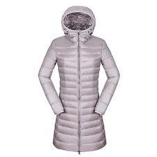 Winter Women's Puffer Ultra-light Duck Down Slim Fit Long Jacket Parka Warm Coat