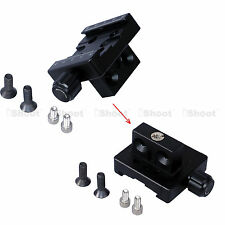 iShoot Clamp Linker Connector for ARCA Fit Tripod Ball Head Quick Release Plate