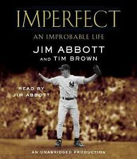 Imperfect: An Improbable Life ex.library audio book free shipping