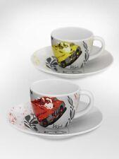 2 original Mercedes Benz Porzellan Espresso Tassen Mille Miglia by Ritzenhoff ®