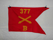 flag372 WW 2 US Army Airborne  Guide on 377th Field Artillery Battery B