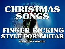Christmas Songs Finger Picking Style For Guitar DVD Watch Video Of All Songs!