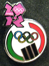 2012 LONDON Olympic LIBYA NOC Internal Team - delegation dated scarce pin