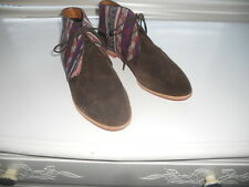 New Dolce Vita ~ Art to Wear~ Ethnic Kilim Boho Ankle Oxford Boot Shoe ~ 9 1/2 M