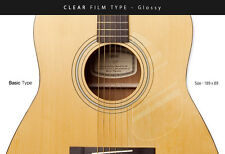 [Healing Shield] Acoustic Guitar Premium Film Pickguard BasicType_Clear-Glossy