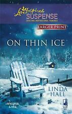 On Thin Ice (Love Inspired Large Print Suspense)-ExLibrary