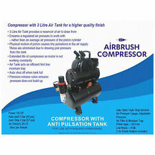 BADGER Airbrushes Air Compressor with Air Tank for Badger Air Brush BA1100