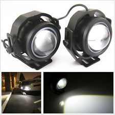2Pcs High Power CREE U2 LED Hawkeye Projector Lamp Car Daytime Running Fog Light