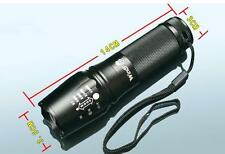 Waterproof UltraFire CREE XML- L2 2000Lm Zoomable Flashlight Torch Light Lamp Z5