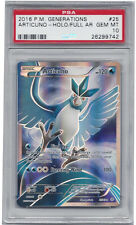 PSA 10 Articuno Full Art XY Generations Gem Mint 1 of 11 in the World Super Rare