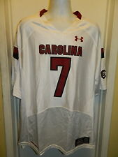 SOUTH CAROLINA GAMECOCKS UNDER ARMOUR NEW COLLEGE FOOTBALL JERSDEY MENS #7 XL
