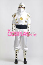 Mighty Morphin Power Rangers: The Movie -- White Ninjetti Ranger Cosplay Costume